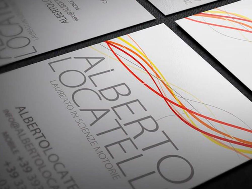 Biglietti da Visita Alberto Locatelli