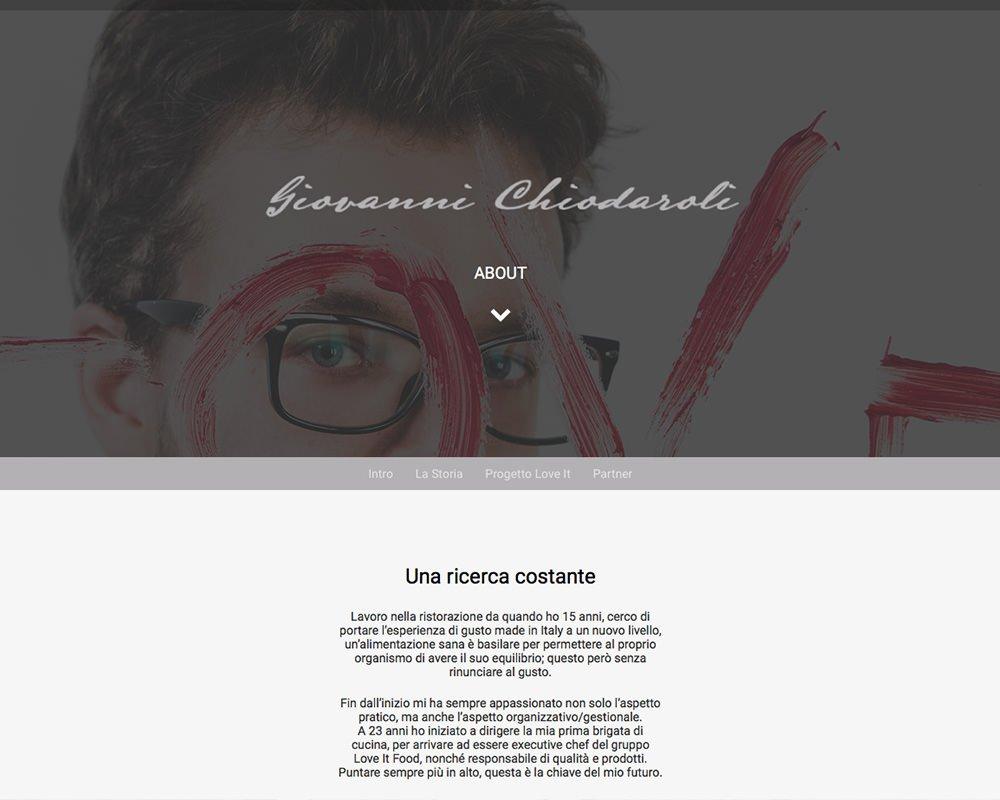 Sito Web Giovanni Chiodaroli