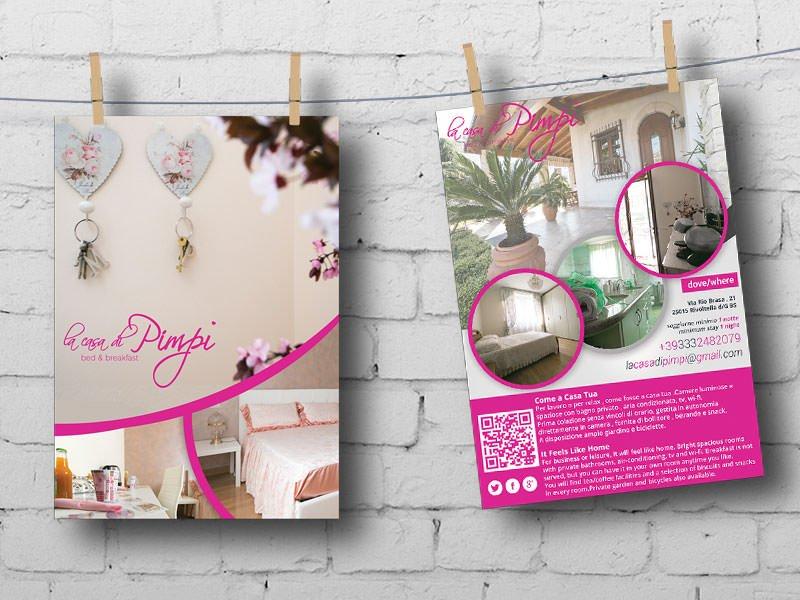 Flyer La Casa di Pimpi