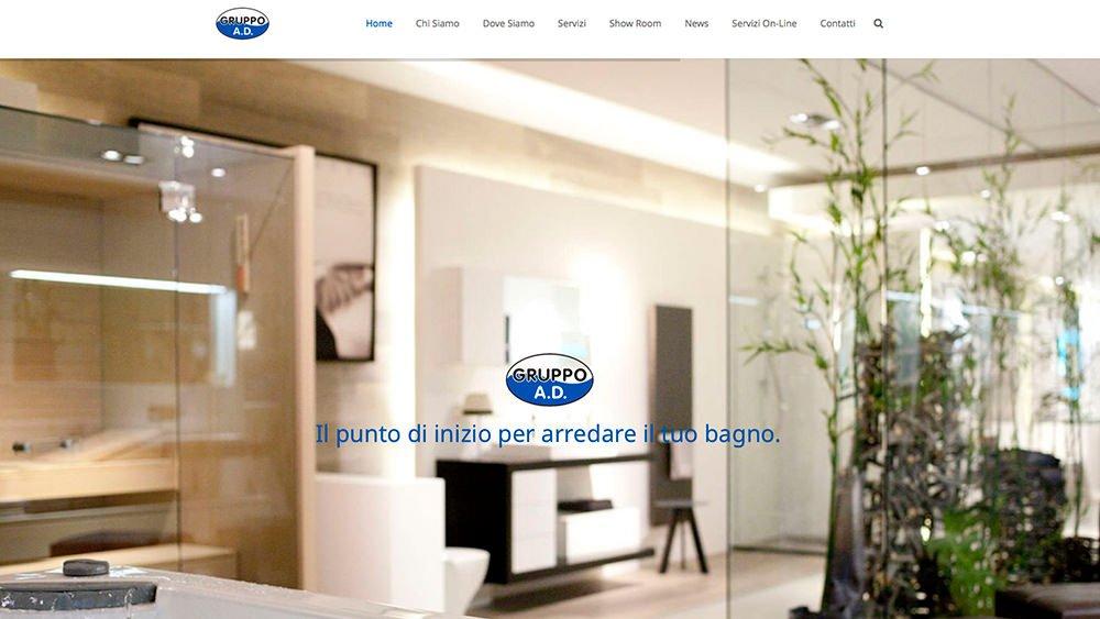 Sito Web Gruppo AD