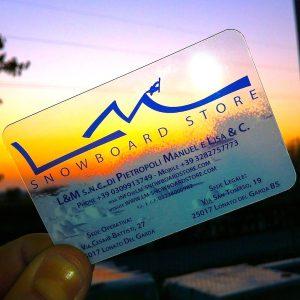 Biglietti da Visita LM Board Store