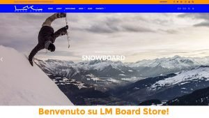 Ecommerce LM Board Store