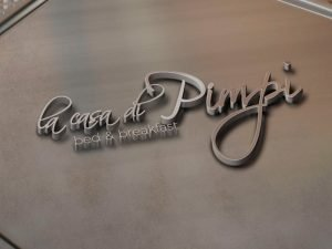 Logo Design La Casa di Pimpi
