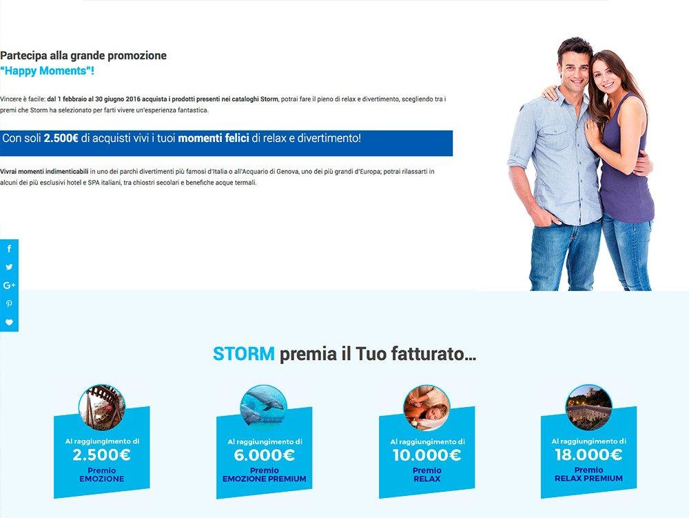 Sito Web Happy Moments