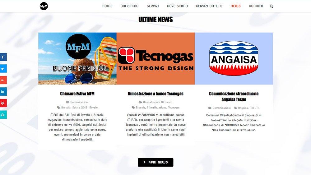 Sito Web MFM Rovato