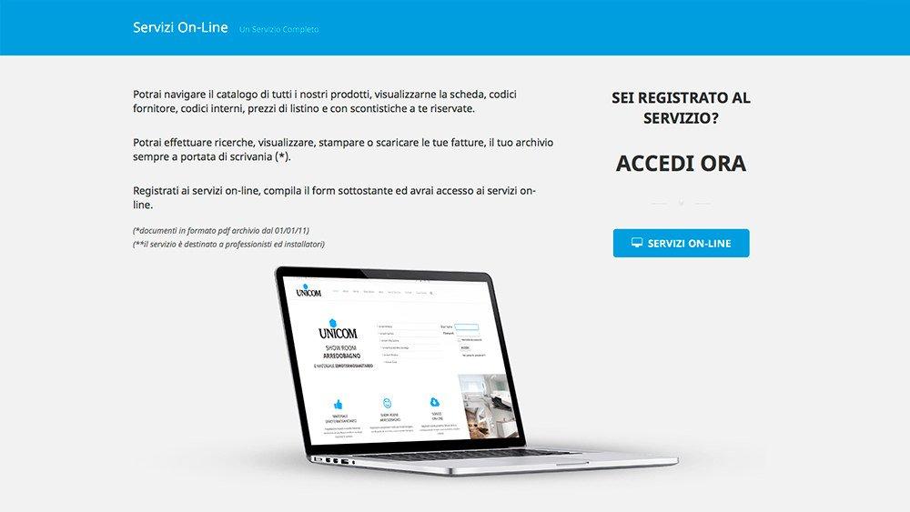 Sito Web Unicom